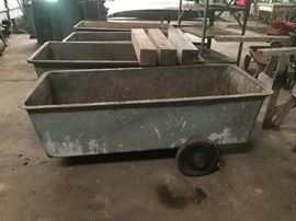 Galvanize feed wagon is $60 each