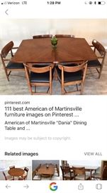 American of Martinsville furniture..won't believe the price we are offering it at