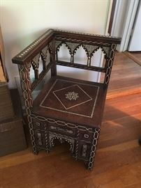 Syrian Damascus Chair