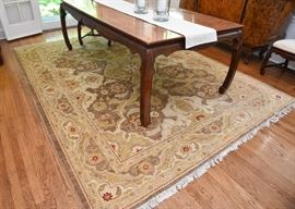 "$1,500 - Hand-Knotted Pakistani Area Rug (approx. 10'8"" x 8'2"")"