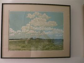 Summer Sky, Nancy Bickford Bandy, 1977