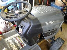 "Original price $1200.  Craftsman T1000.  Model 247.208704.   420 cc overhood valve motor.  42"" cut."