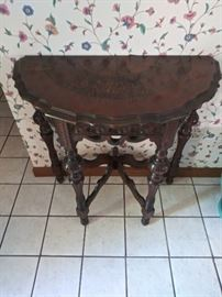 Wisconsin Furniture Company Inlay Table