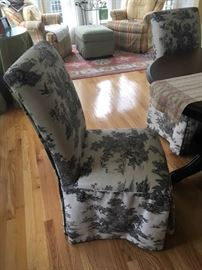 dining chair slipcovered
