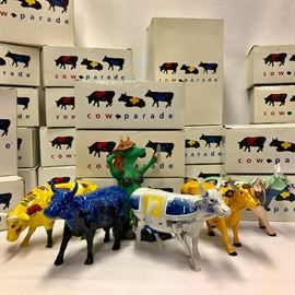 25 Cows on Parade Herd #1   http://www.ctonlineauctions.com/detail.asp?id=725571