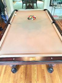 8. Olhausen Billiard Table (55'' x 100'')