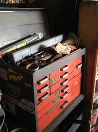 Tool boxes, full of tools