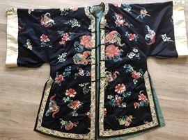 Chinese Silk Robe beautiful detail!