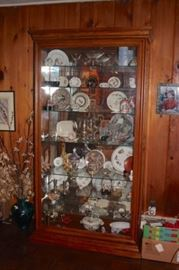 Large Curio and Decorative