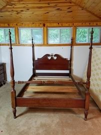 Cherry Four Post Bed http://www.ctonlineauctions.com/detail.asp?id=730427