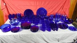 Cobalt Blue Dinnerware      http://www.ctonlineauctions.com/detail.asp?id=728380