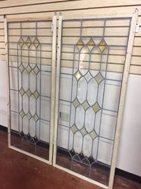 Large Leaded Glass Panels