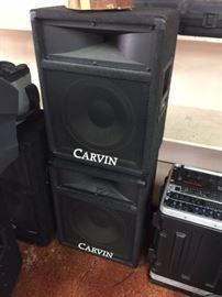 Pair of Carvin  822 speakers