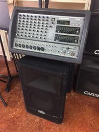 Samson XM 910 Ten Channel Powered Mixer