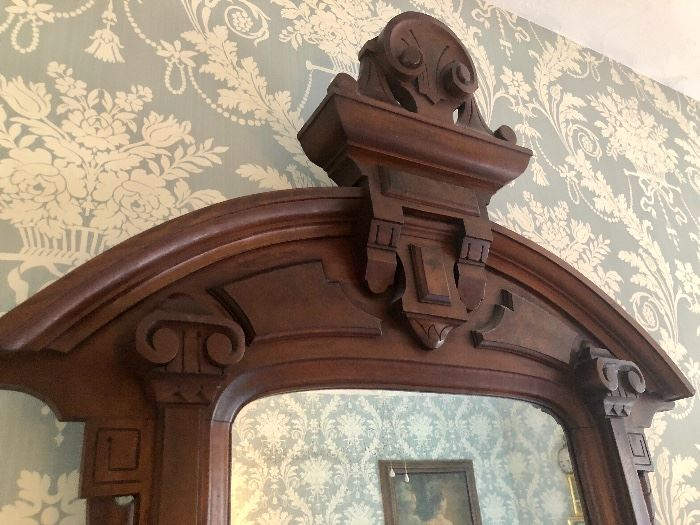 Lovely ornate carving - this will become a family heirloom!
