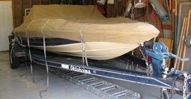 Custom Made Boat Cover