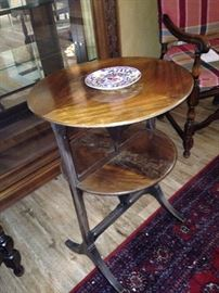 Antique tilt table