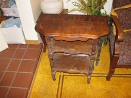 Vintage 3 Tier Side Table