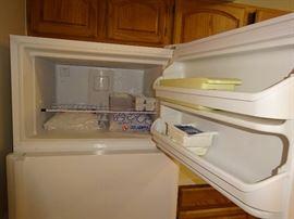 Interior of Freezer