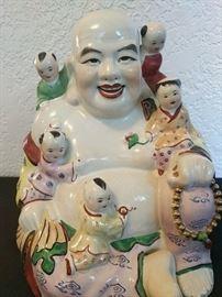 Buddha six heads II