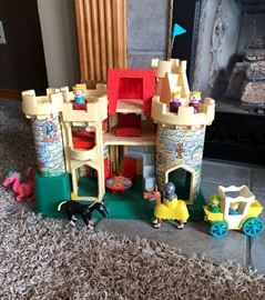 Vintage Fisher Price castle