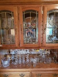 China Cabinet Contents Not Included