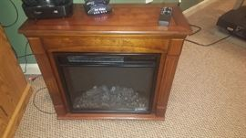 $100  Electric fireplace