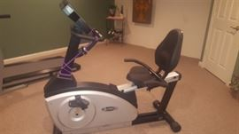 $75  Exercise bike