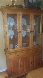 $275  Amish china cabinet