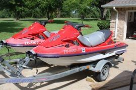 Kawasaki JET SKI 1110 STX Watercraft
