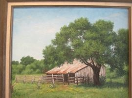 Juanita Altman old barn