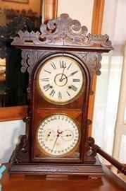 RARE Gale's New Perpetual Calendar Clock