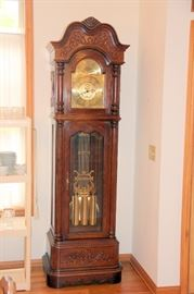 Very Nice Ridgeway Grandfather Clock