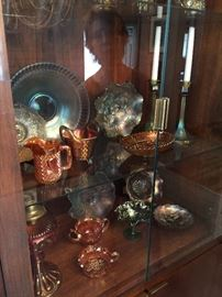 Assorted Carnival Antique Glass