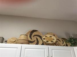 Southwestern Peru  Art Decoratives Baskets