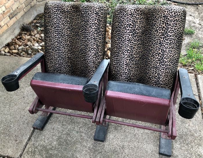 Antique Movie Chairs