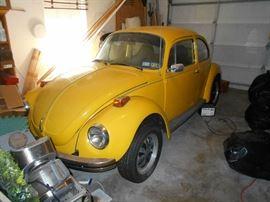 1973 VW Super Beetle
