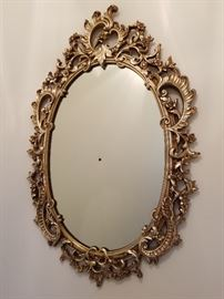 Syroco oval mirror