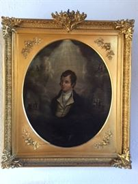 1848 Portrait of Robert Burns, the Scottish poet