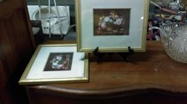 2 pictures with frame