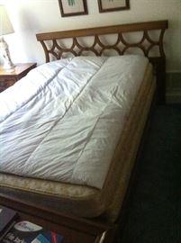 MID-CENTURY BED