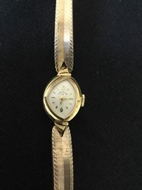 14kt Gold Ladies Elgin 23 Watch