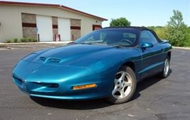 1995 Pontiac Firebird Convertible, Formula, Trans Am, V8, 5.7L, New Top, New Battery, Car Cover, 88,744 Miles, VIN # 2G2FV32P2S2211651