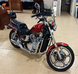 1987 Honda Shadow VT700 Motorcycle, VIN # JH2RC1905HM302936