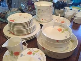 Just Flowers by Mikasa, bone china