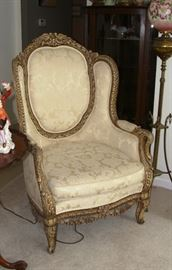 Louis XV bird chair