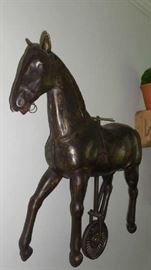 Family Room:  You can now better see the depth of the metal horse.