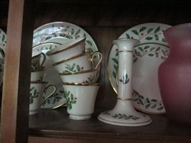 Lenox China Holiday Dishes