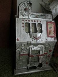 Dated 1938 Nickel Slot Machine