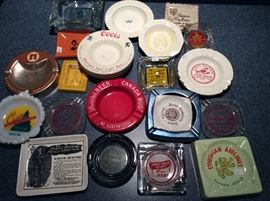 Vintage Ashtray Collection